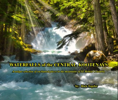 WATERFALLS of the CENTRAL KOOTENAYS book cover