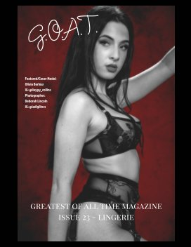 GOAT Issue 23 Lingerie book cover