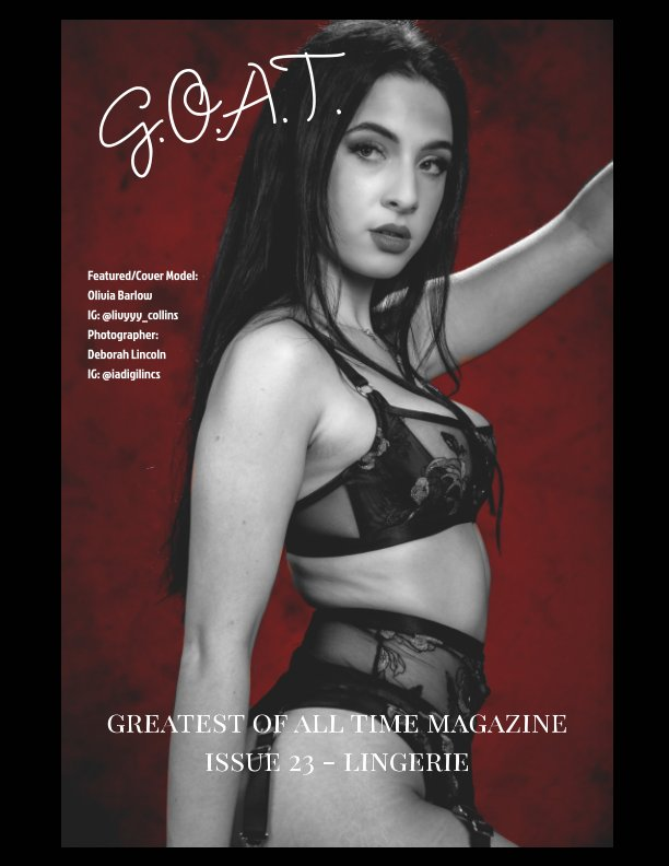 View GOAT Issue 23 Lingerie by Valerie Morrison