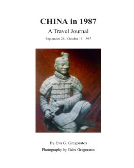 CHINA in 1987 book cover