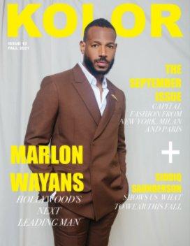 Kolor Magazine Issue 10, Marlon Wayans book cover