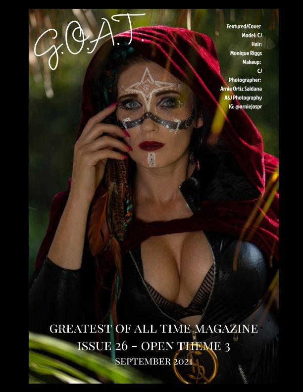 Ver GOAT Issue 26 Open Theme 3 por Valerie Morrison