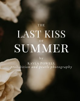The Last Kiss of Summer book cover