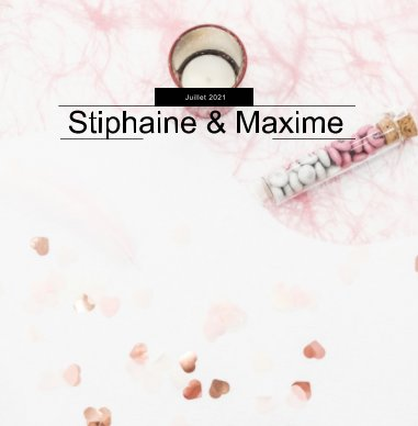 Stiphaine et Maxime book cover