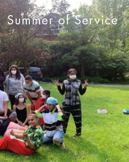 Summer of Service 2021 book cover