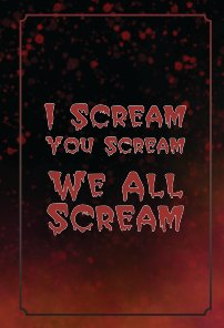 We All Scream Journal book cover