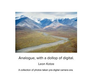 Analogue with a dollop of Digital book cover