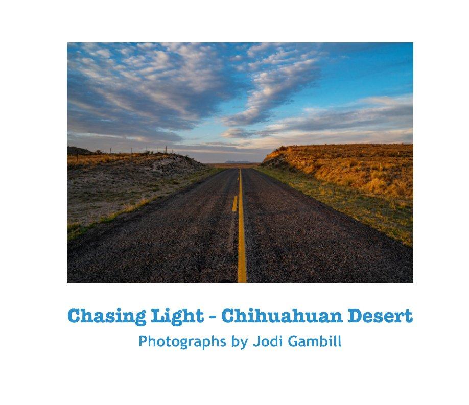 View Chasing Light - Chihuahuan Desert by Jodi Gambill