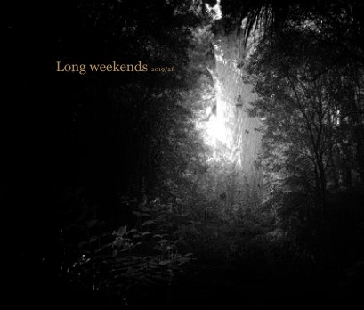 Long weekends 2019/21 book cover