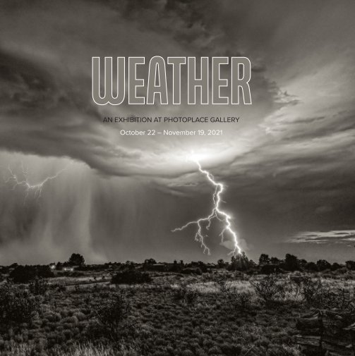 View Weather, Hardcover Imagewrap by PhotoPlace Gallery