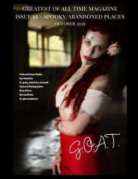 GOAT Issue 19 Spooky Abandoned Places book cover