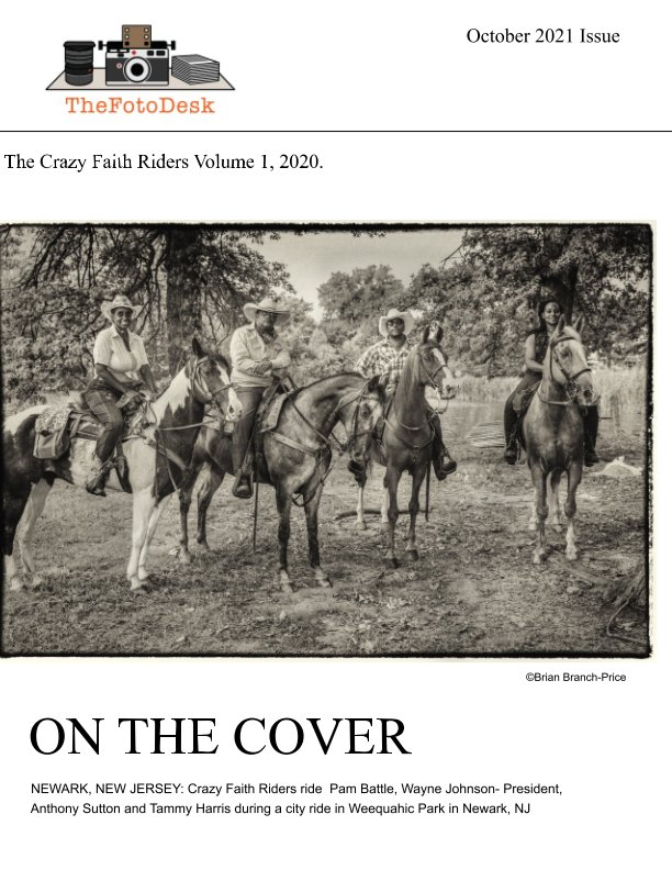 View Crazy Faith Riders 2020 Volume 1 by Brian Branch-Price
