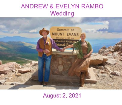 Andrew-Evelyn Rambo Wedding book cover