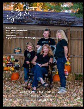 GOAT Issue 36 Family book cover