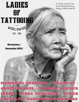 Ladies of Tattooing Worldwide 4 book cover