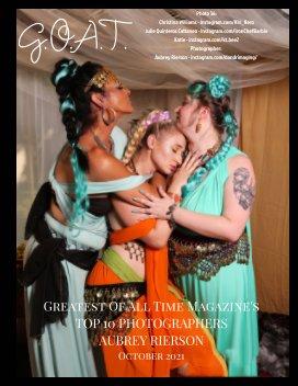 GOAT Top 10 Photographers Aubrey Rierson book cover