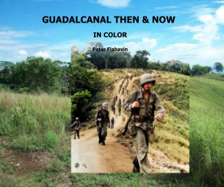 Guadalcanal THEN AND NOW book cover