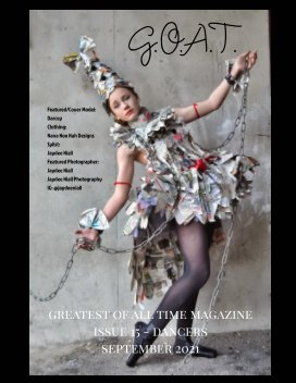GOAT Issue 15 Dancers book cover