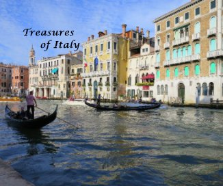 Treasures of Italy book cover