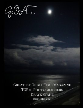 GOAT TOP 10 Photographers Drayk Stahl book cover