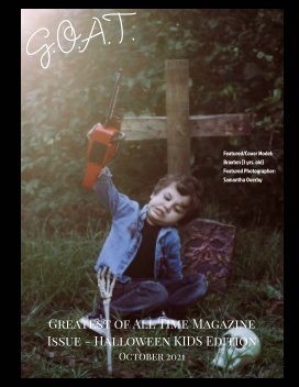 GOAT Issue 41 Halloween Kids Edition book cover