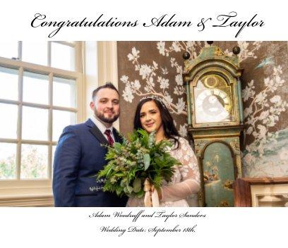 Congratulations Adam and Taylor book cover