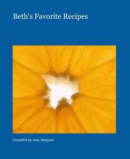 Beth's Favorite Recipes book cover