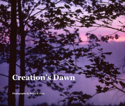 Creation's Dawn book cover