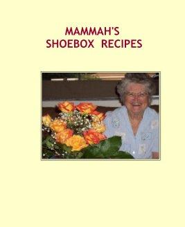 MAMMAH'S SHOEBOX  RECIPES book cover