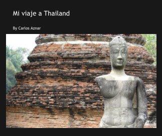 Mi viaje a Thailand book cover
