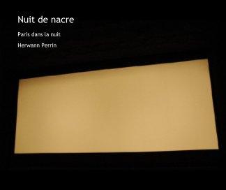 Nuit de nacre book cover