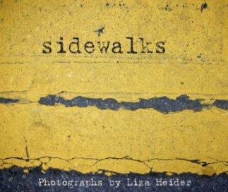 SIDEWALKS by Liza Heider book cover