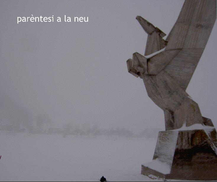 View parèntesi a la neu by Xavier Casas Sifres