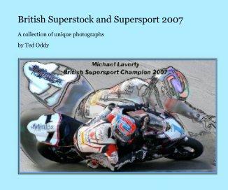 British Superstock & Supersport Racing book cover