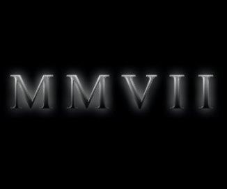 MMVII book cover