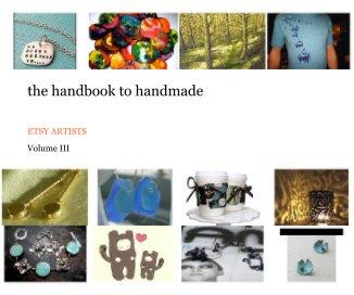 the handbook to handmade volume III book cover
