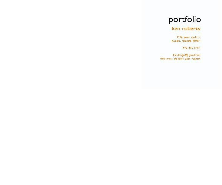 View portfolio by Ken Roberts