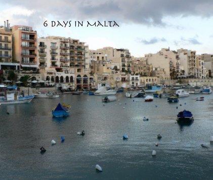 6 days in Malta book cover