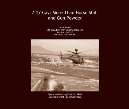7-17 Cav: More Than Horse Shit and Gun Powder book cover