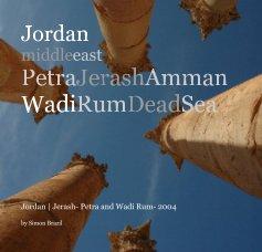 Jordan - Petra, Jerash, Wadi Rum book cover
