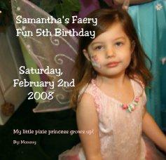 Samantha's Faery book cover