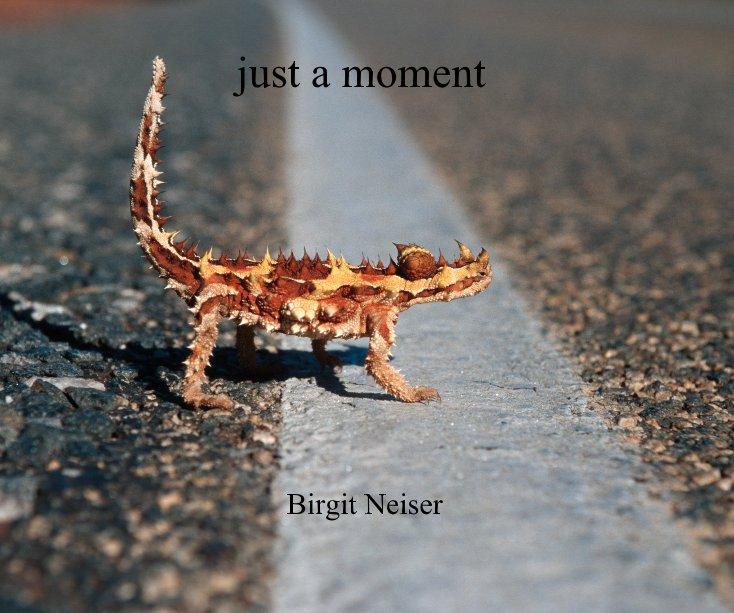 just a moment Birgit Neiser