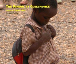 The School at Olekimunke book cover