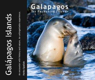 Galápagos Islands book cover