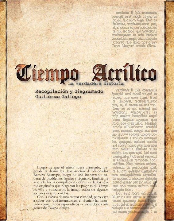 View Tiempo Acrílico by Guillermo Gallego
