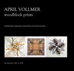 APRIL VOLLMER woodblock prints book cover