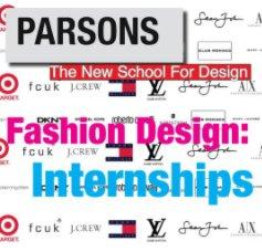 Fashion Design: Internships book cover