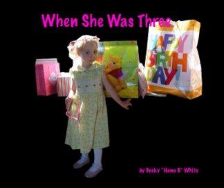 When She Was Three book cover