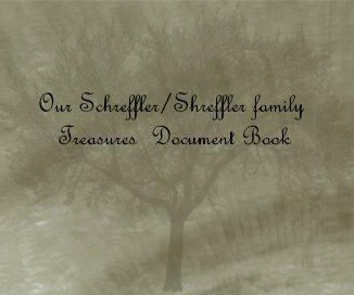 Our Schreffler/Shreffler Family Treasure's Document Book book cover