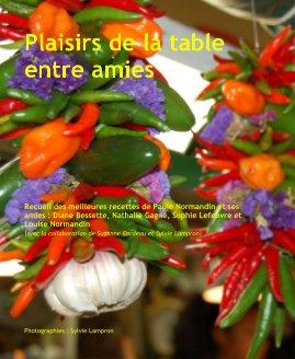 Plaisirs de la table entre amies book cover